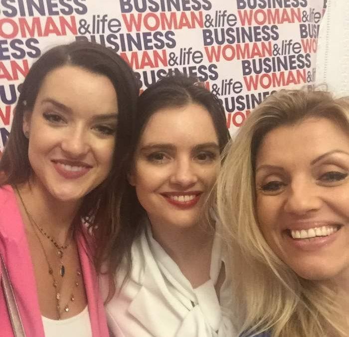 Prelegent podczas europejskiego Kongresu Kobiet Biznesu 21.04.2019 Warszawa