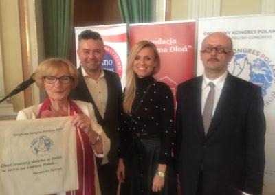 Konsultant do spraw kultury oraz autor oficjalnego hasła Światowego Kongresu Polaków